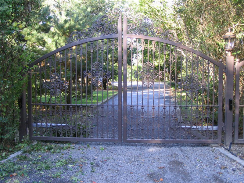 Wrought Iron Gates for Driveways